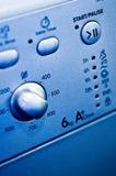 Controles da máquina de lavar imagens de stock