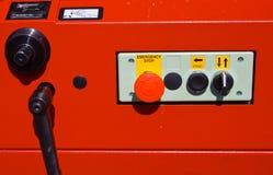 Controles da máquina moldando de madeira Foto de Stock Royalty Free