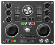 Controles da placa sadia ou do estúdio Foto de Stock Royalty Free