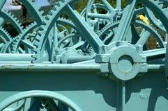 Controles da represa Imagens de Stock Royalty Free