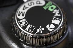Controles de cámara fotografía de archivo libre de regalías