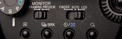 Controles de câmera Fotos de Stock Royalty Free
