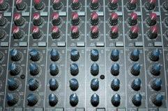Controles de canaleta Imagem de Stock