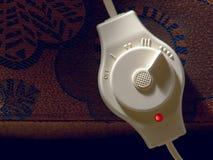Controles de la manta eléctrica Fotografía de archivo libre de regalías
