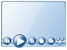 Controles de van verschillende media van de Speler Stock Afbeelding