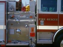 Controles del coche de bomberos Foto de archivo libre de regalías