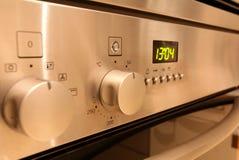 Controles del horno Fotos de archivo