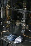 Controles del tren Foto de archivo libre de regalías