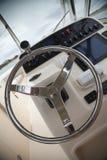 Controles do barco da velocidade Imagens de Stock
