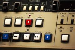 Controles do estúdio Fotografia de Stock