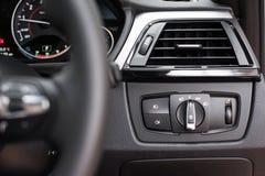 Controles do farol Imagem de Stock