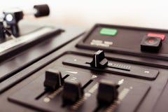 Controles do jogador de registro Fotos de Stock