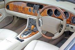 Controles do painel da noz de Jaguar Imagem de Stock Royalty Free