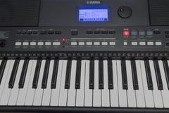 Controles do sintetizador Imagem de Stock
