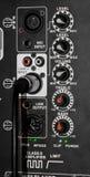 Controles do volume e de tom do painel Fotografia de Stock Royalty Free