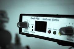Controles om zuurstof te meten stock foto