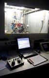 Controles voor motor het testen Stock Foto's