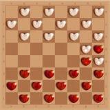 Controleursspel met gedetailleerd en relistic harten, Royalty-vrije Stock Foto's
