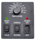 Controller. Texture of laminator temperature controller with indimation led Royalty Free Stock Photography