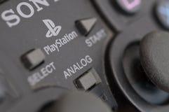 Controller Sony-Playstation Lizenzfreie Stockfotos