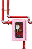 Controller of water sprinkler and fire fighting system Stock Images