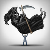 Controlling Death stock illustration