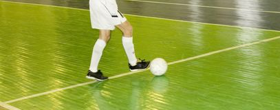 Controlling The Ball Royalty Free Stock Photos