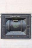 Controllo antico del commutatore fotografie stock libere da diritti