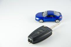 Controllo chiave dell'automobile Immagine Stock