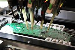 Controllo dei circuiti stampato Fotografia Stock