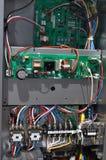 Controllo del condizionatore d'aria Immagini Stock