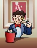Controllo del diamante su Immagine Stock Libera da Diritti