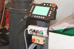 Controllo del robot per saldatura Fotografia Stock