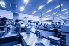 Controllo del supermercato Fotografia Stock