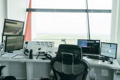 Controllo del traffico aereo (ATC) Immagine Stock