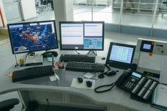 Controllo del traffico aereo (ATC) Immagini Stock