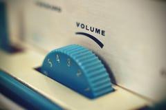 Controllo del volume Immagine Stock