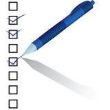 Controllo della penna royalty illustrazione gratis