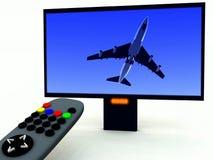 Controllo della TV e TV 12 Fotografia Stock