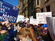 Controllo delle armi, marzo per le nostre vite, protesta, NYC, NY, U.S.A. Fotografie Stock