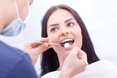 Controllo dentale Immagini Stock Libere da Diritti