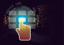 Controllo di accesso Immagine Stock