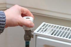 Controllo di calore Immagini Stock