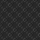 controllo di carta scuro Diamond Cross Frame del triangolo di arte 3D Immagini Stock