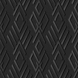controllo di carta scuro Diamond Cross Geometry Frame di arte 3D Fotografia Stock Libera da Diritti