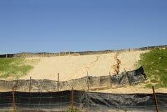 Controllo di erosione Immagini Stock
