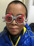 Controllo di miopia Fotografia Stock