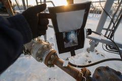 Controllo di pressione immagini stock