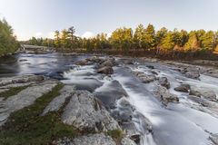 Controllo di qualità di Rawdon Falls Fotografia Stock Libera da Diritti