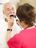 Controllo di salute domestica - Ahhh Fotografia Stock